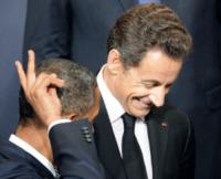 Nicolas Sarkozy, Barack Obama - Lisbona - 23-11-2010 - L'ex presidente Sarkozy in stato di fermo per concussione