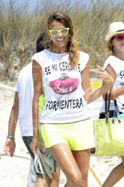 Cristina Chiabotto - Formentera - 28-07-2013 - Dillo con una t-shirt: Taylor Swift vuole una vita bohémienne