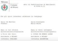 Pubblicazioni Belen e Stefano De Martino - 29-07-2013 - Belen e Stefano, ecco la chiesetta in cui avverrà il matrimonio