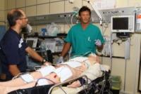 Dottor Piergiorgio Cavallo, Manichino - Pronto Soccorso - Bologna - 30-07-2013 - A Bologna la prima macchina che congela il corpo umano