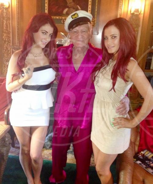 Carla Howe, Hugh Hefner - Los Angeles - 30-07-2013 - Villa Arzilla: i Peter Pan dello showbusiness