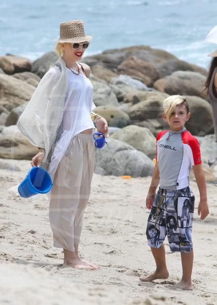 Kingston Rossdale, Gwen Stefani - Malibu - 13-07-2013 - Gwen Stefani aspetta il terzo figlio