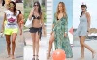Claudia Romani, Cristina Chiabotto, Nicole Minetti, Jennifer Lopez - Shorts, maxidress o pareo: e tu cosa indossi in spiaggia?