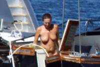 Elena Teocoli - Formentera - 01-08-2013 - Teo e Elena Teocoli a Formentera: scandalo a poppa