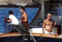 Elena Teocoli, Teo Teocoli - Formentera - 01-08-2013 - Teo e Elena Teocoli a Formentera: scandalo a poppa