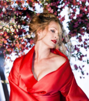 Uma Thurman - Los Angeles - 02-08-2013 - Svelata la copertina del Calendario Campari 2014