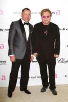 David Furnish, Elton John - Los Angeles - 27-02-2011 - Monaco: Sir Elton John operato per appendicite