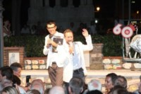 Davide Paniate, Federico Basso - Alassio - 03-08-2013 - Miss Muretto 2013: trionfa l'astigiana Calina Pletosu