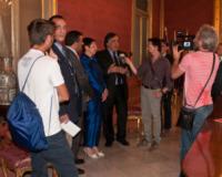 Francesca Cannizzo, Leoluca Orlando - Palermo - 05-08-2013 - Francesca Cannizzo: è donna il nuovo Prefetto di Palermo