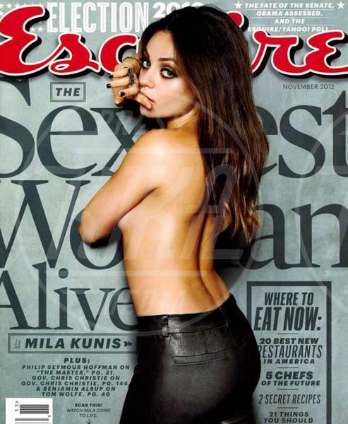 Mila Kunis - Los Angeles - 06-08-2013 - Madre Natura non sbaglia e porta le muse, nude, sulle cover