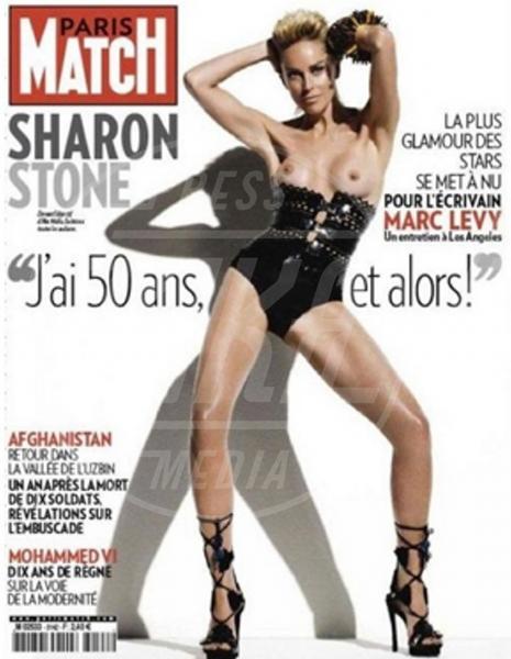 Sharon Stone - Los Angeles - 06-08-2013 - Madre Natura non sbaglia e porta le muse, nude, sulle cover
