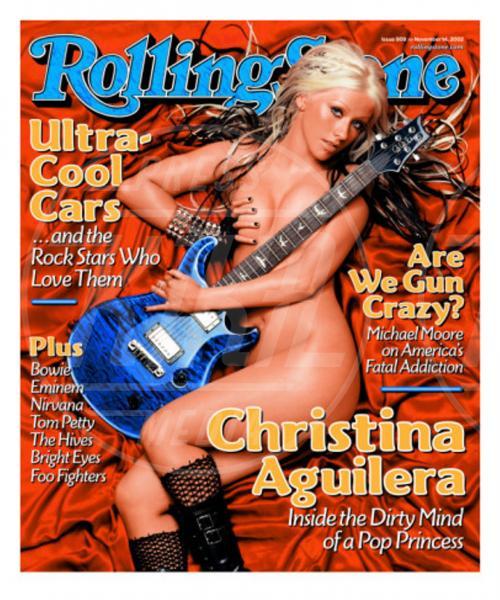 Christina Aguilera - Los Angeles - 06-08-2013 - Madre Natura non sbaglia e porta le muse, nude, sulle cover