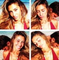 Stefano De Martino, Belen Rodriguez - Los Angeles - 06-08-2013 - Dillo con un tweet: matrimonio buddista per Nina Moric