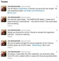 Joe Germanotta - New York - 08-08-2013 - Il ristorante dei genitori di Lady Gaga infestato dai topi