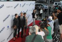 Georgia Ford, Harrison Ford, Calista Flockhart - Los Angeles - 08-08-2013 - Miley Cyrus ruba la scena al fidanzato alla première di Paranoia