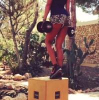 Belen Rodriguez - Los Angeles - 09-08-2013 - Dillo con un tweet: Belen Rodriguez ci da dentro con lo sport