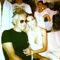 Elisabetta Gregoraci, Andrea Bocelli - Los Angeles - 09-08-2013 - Dillo con un tweet: Belen Rodriguez ci da dentro con lo sport