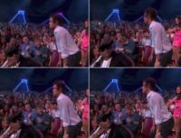 Harry Styles - Hollywood - 12-08-2013 - Harry Styles replica il twerking di Miley Cyrus