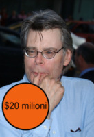 Stephen King - Beverly Hills - 22-07-2004 - Autori paperoni, Forbes incorona E.L. James