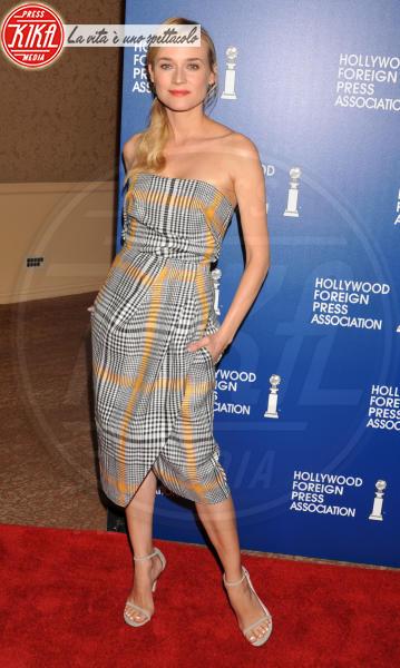 Diane Kruger - Beverly Hills - 13-08-2013 - Il must dell'autunno? Sua Maestà il tartan!