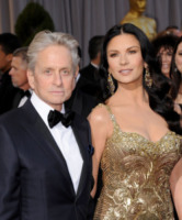Catherine Zeta Jones, Michael Douglas - Hollywood - 24-02-2013 - Michael Douglas ha lasciato la casa coniugale