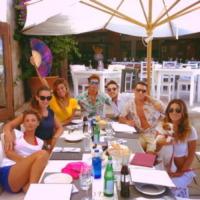 Stefano De Martino, Belen Rodriguez - Milano - 16-08-2013 - Dillo con un tweet: Selvaggia Lucarelli sceglie il lago