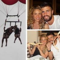 Gerard Piqué, Shakira - Milano - 16-08-2013 - Dillo con un tweet: Selvaggia Lucarelli sceglie il lago
