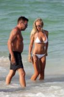 Laura Cremaschi, Andrea Perone - Miami - 17-08-2013 - Andrea Perone e Laura Cremaschi innamorati a Miami