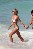 Laura Cremaschi - Miami - 17-08-2013 - Andrea Perone e Laura Cremaschi innamorati a Miami