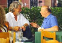Beppe Grillo, Massimo Boldi - Portofino - 18-08-2013 - Vacanze a cinque stelle a Portofino per Beppe Grillo