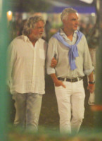 Beppe Grillo - Portofino - 18-08-2013 - Vacanze a cinque stelle a Portofino per Beppe Grillo
