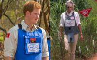 Lady Diana, Principe Harry - 19-08-2013 - Il principe Harry in Angola, come Lady Diana