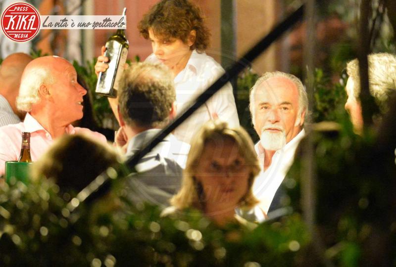 Antonio Ricci - Portofino - 19-08-2013 - Antonio Ricci e moglie, Striscia la cenetta
