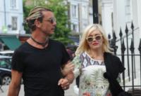 Gavin Rossdale, Gwen Stefani - Londra - 19-08-2013 - Gwen Stefani aspetta il terzo figlio