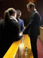 Carl Pistorius, Aimee Pistorius, Oscar Pistorius - Pretoria - 20-08-2013 - Oscar Pistorius di nuovo nei guai: rissa in discoteca