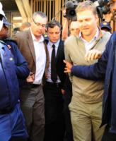 Oscar Pistorius - Pretoria - 20-08-2013 - Oscar Pistorius prega prima dell'udienza per l'omicidio di Reeva