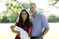 Principe George, Principe William, Kate Middleton - Londra - 19-08-2013 - William, Kate e George: ecco le foto scattate da nonno Michael