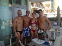 Federica Pellegrini, Filippo Magnini - Los Angeles - 08-07-2013 - Dillo con un tweet: Pellegrini-Magnini tornano insieme