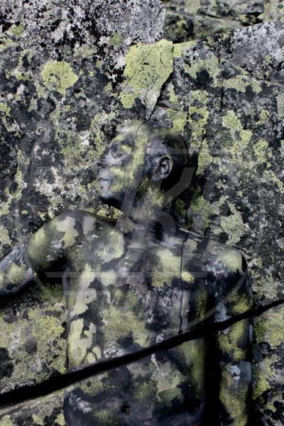 Body Painting, Breaking rock - Innsbruck - 14-08-2009 - L'arte sul corpo: il bodypainting di Johannes Stoetter