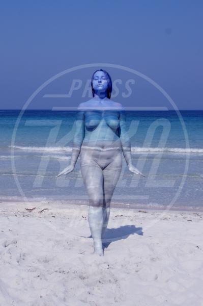 The Ocean - Innsbruck - 28-09-2011 - L'arte sul corpo: il bodypainting di Johannes Stoetter
