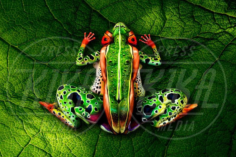 the Frog - Innsbruck - 18-09-2012 - L'arte sul corpo: il bodypainting di Johannes Stoetter