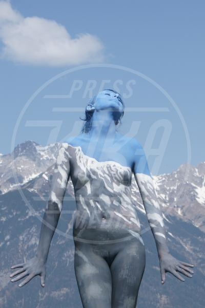 Body Painting, Alpine Feeling - Innsbruck - 10-04-2011 - L'arte sul corpo: il bodypainting di Johannes Stoetter