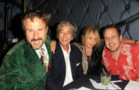Todd Morgan, Rosanna Arquette, David Arquette - West Hollywood - 30-08-2012 - Rosanna Arquette sposa per la quarta volta