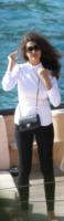 Afef, Naomi Campbell - Portofino - 04-05-2013 - Le celebrity nate con la camicia… bianca!
