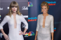 Taylor Swift, Heidi Klum - Los Angeles - 23-08-2013 - Taylor Swift e Heidi Klum: chi lo indossa meglio?