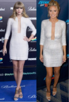 Taylor Swift, Heidi Klum - Los Angeles - 23-08-2013 - Due star, lo stesso look: chi lo indossa meglio?