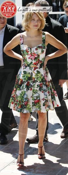 Lea Seydoux - Cannes - 23-05-2013 - Mini o longuette, ma pieno di fiori: è l'abito della primavera!
