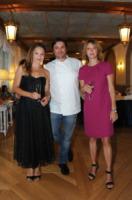 Francesco Elmi, Fabrizia Sacchi - Cortina d'Ampezzo - 24-08-2013 - Margherita Buy e Fabrizia Sacchi protagoniste di Viaggio da sola
