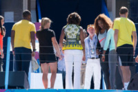 Michelle Obama, Serena Williams - Manhattan - 24-08-2013 - Michelle Obama all'Arthur Ashe Kids Day