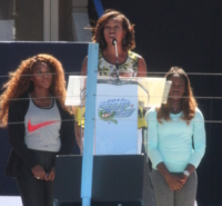 Michelle Obama - New York - 24-08-2013 - Michelle Obama all'Arthur Ashe Kids Day